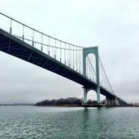 Photo taken at Bronx-Whitestone Bridge by Don P. on 1/13/2013