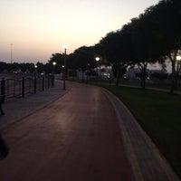 Photo taken at AlQouz Jogging Track by Sayed Ahmad D. on 10/1/2013