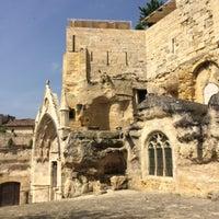 Photo taken at Église Monolithe by Magali M. on 5/27/2017