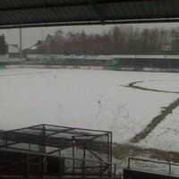 Photo taken at KV Eendracht Aalter by Tars W. on 2/24/2013