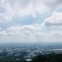 Photo taken at จุดชมวิว ดอยสุเทพ by Nuttapong k. on 9/12/2018