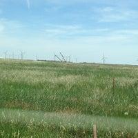 Photo taken at Highland Windfarm by White Rose on 6/26/2013