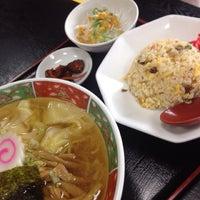Photo taken at 修ちゃんラーメン寒河江店 by ばっち on 11/1/2014