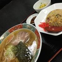 Photo taken at 修ちゃんラーメン寒河江店 by ばっち on 7/8/2015
