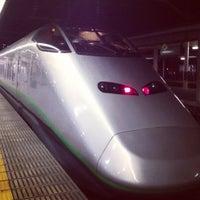 Photo taken at Yamagata Station by ばっち on 11/25/2012