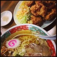 Photo taken at 修ちゃんラーメン寒河江店 by ばっち on 8/9/2013