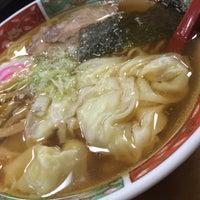 Photo taken at 修ちゃんラーメン寒河江店 by ばっち on 11/20/2015