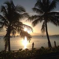 Photo taken at Bophut Beach by Mon N. on 7/1/2013