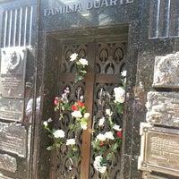 Photo taken at Mausoleo de Eva Perón by Luiz M. on 4/8/2013