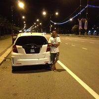 Photo taken at Pantai Lido by Hafiz H. on 11/9/2012