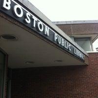 Photo taken at Boston Public Library - Fields Corner Branch by Rosanne F. on 6/11/2014