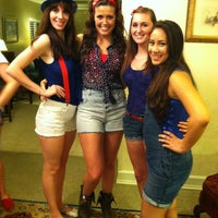 Photo taken at Alpha Delta Pi by Emily T. on 2/12/2013