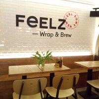 Снимок сделан в Feelz – Wrap & Brew пользователем Мария В. 3/8/2017