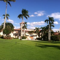 Photo taken at The Mar-a-lago Club by Erin W. on 10/26/2013