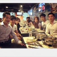 Photo taken at Hotpot Super 百銀一鍋 by Lydia T. on 3/8/2013