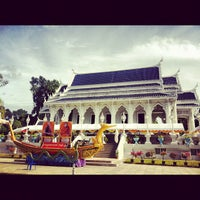Photo taken at Wat Kaew Korawaram by Prem T. on 10/7/2012