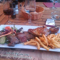 Photo taken at Restaurant aux Cepes Enchantes by Екатерина Г. on 6/2/2014