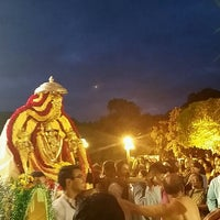 Photo taken at Shri Shiva Vishnu Temple by Lavanya W. on 2/3/2015