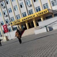 Photo taken at Kozan Fatih Anadolu Lisesi by Ülkü T. on 12/1/2017