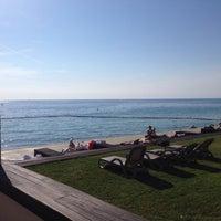 Photo taken at Bernadin Strand - Beach by Eda O. on 5/26/2016