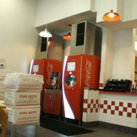 Photo taken at Five Guys by Russell L. on 8/31/2012