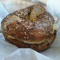 Photo taken at Bagel Cafe by David G. on 10/23/2011