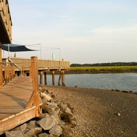 Photo taken at Old Oyster Factory by Chris W. on 8/19/2011