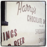 Photo taken at Harry's Chocolate Shop by Doug S. on 9/1/2012