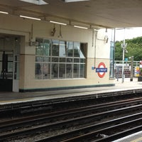 Photo taken at East Finchley London Underground Station by Yoshi O. on 6/24/2012