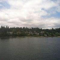 Photo taken at Bainbridge Island by kellydoesseattle on 7/4/2013