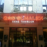 Photo taken at Théâtre Marigny by Martin B. on 6/21/2013