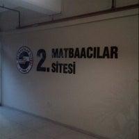 Photo taken at 2. Matbaacılar Sitesi by Kemal U. on 1/23/2013