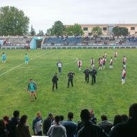 Photo taken at KTÜ Futbol Stadyumu by Ümit S. on 5/8/2014