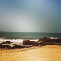 Photo taken at Ashwem Beach by Ann S. on 3/25/2013