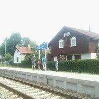 Photo taken at Železniční zastávka Luka pod Medníkem by Werki on 7/27/2016