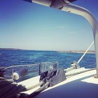 Photo taken at Parco Nazionale dell'Asinara by Asinara Catamaran on 7/8/2016