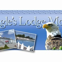 Photo taken at The Eagles Lodge Motel by The Eagles Lodge Motel on 8/14/2013