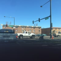 Photo taken at Federal Blvd & Yale Ave by Matthew L. on 9/20/2015