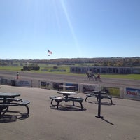 Photo taken at Vernon Downs Harness Track by T-Bone on 10/12/2013