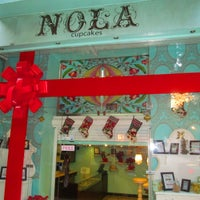 Photo taken at NOLA Cupcakes by TripScout Travel App . on 3/16/2017