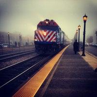 Photo taken at Metra - Elmhurst by Jessemy S. on 1/10/2013