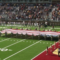 Photo taken at Alumni Stadium by Rose D. on 10/27/2012