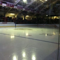 Photo taken at Bright Hockey Center by Rose D. on 12/29/2012