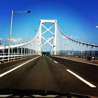 Photo taken at Onaruto Bridge by uny747 on 10/9/2012