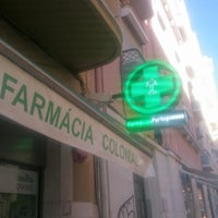 Photo taken at Farmacia Colonial by Vinícius L. on 8/18/2017