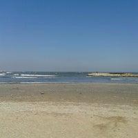 Photo taken at Malibu Beach by Anca R. on 2/28/2013