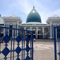Photo taken at Masjid Nasional Al-Akbar by Faiz on 10/10/2014