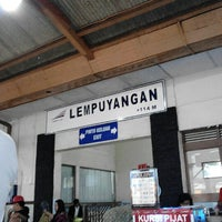 Photo taken at Stasiun Lempuyangan by Angga C. on 12/31/2012