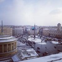 Снимок сделан в Площадь Восстания пользователем Ivan P. 3/31/2013