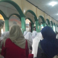 Photo taken at Masjid Ar-Rohmah by amy a. on 7/20/2013